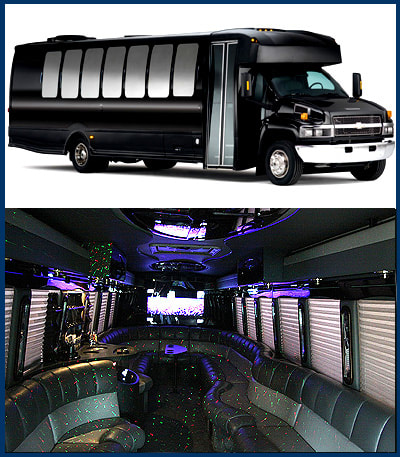 Houston Rodeo Limousine, Rodeo Houston Transportation, Rodeo Party Bus