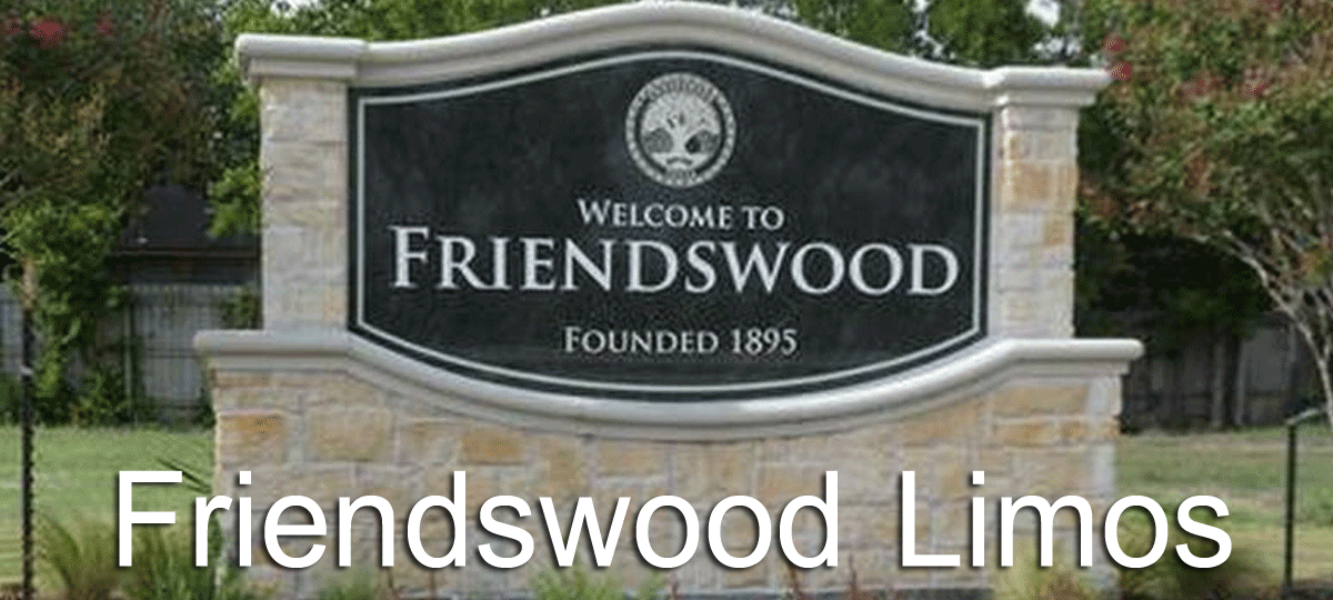Friendswood TX Limousine Rental, Friendswood Limo Transportation Service